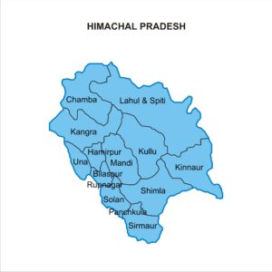 Targeted Location in Himachal Pradesh for PCD Pharma Franchise