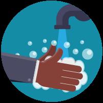 Clean your hands often