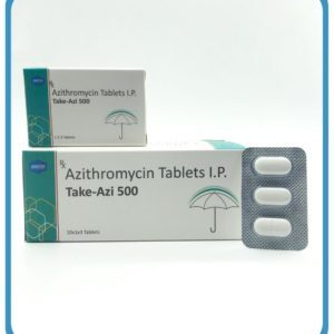 Azithromycin Tablets Manufacturer & Supplier in India
