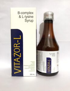 B Complex and Lysine Syrup Manufacturer in India